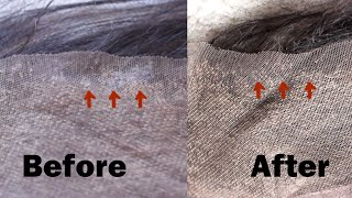 How to Remove glue from your lace frontal/closure Squeeky clean