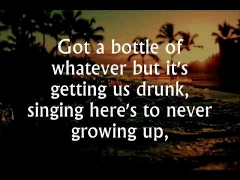 Here's to Never Growing Up - Avril Lavigne (lyrics) - YouTube
