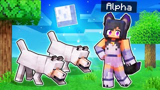 Playing Minecraft As The ALPHA WEREWOLF!