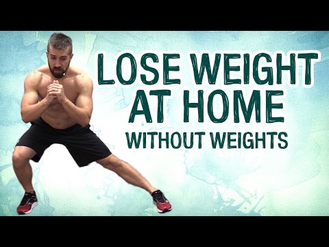 How to Exercise at Home to Lose Weight WITHOUT Equipment