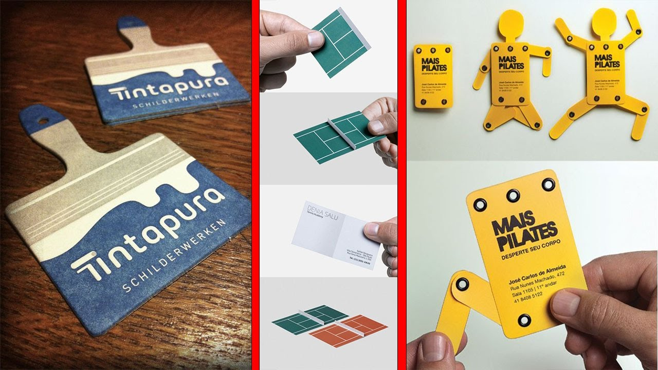100 Inspiring Examples Of Creative Business Cards