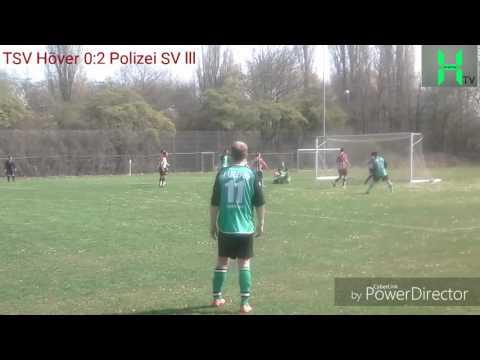 4. Kreisklasse Hannover-Land Staffel 6. TSV Höver 1:2 Polizei SV lll Teil 2 HD