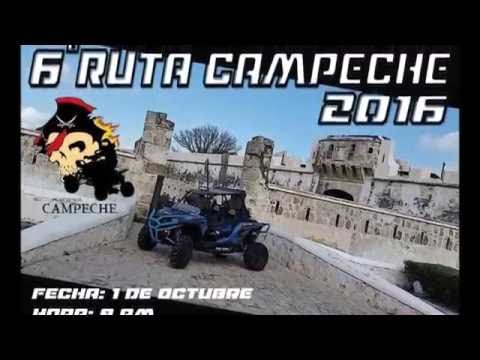 RUTA PIRATAS DE CAMPECHE VIDEO COMPLETO