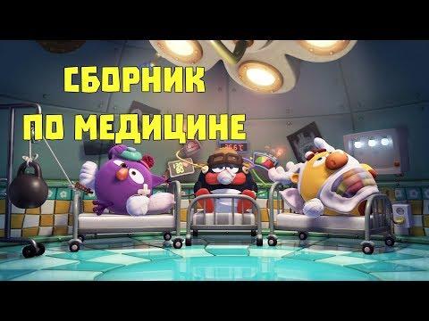 Сборник по медицине - Смешарики. ПИН - код |Познавательные мультфильмы