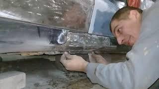 Как покрасить авто своими руками. Сварка, жестянка. Часть 1