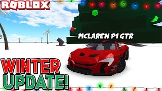 WINTER UPDATE ❄️ in CAR CRUSHERS 2! [New Mode, 3 Vehicles, Winter Map & More!] (Roblox)