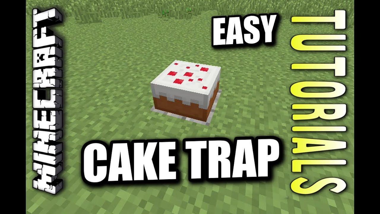 Minecraft Cake Trap
