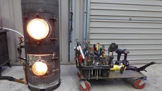 Waste Oil Heater - Super Quick Install - New Design - Space Heater