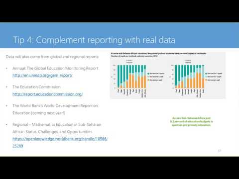 impactAFRICA webinar: 6 tips for reporting on education issues