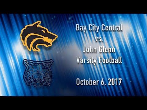 BCTV Sports - Bay City Central vs. John Glenn Varsity Football - October 6, 2017