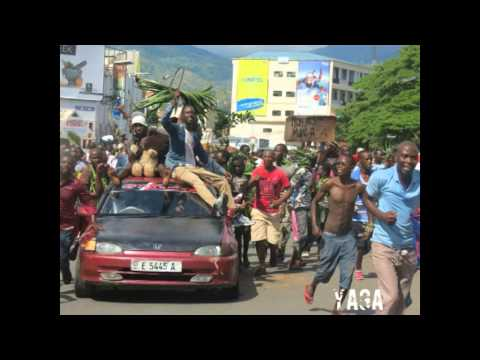 Quelques photos lors de l'annonce du coup d'Etat au Burundi