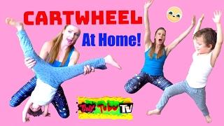 Teach your Kid a Cartwheel!