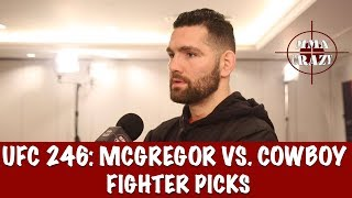 UFC 246: Conor McGregor vs. Donald 'Cowboy' Cerrone Fighter Picks