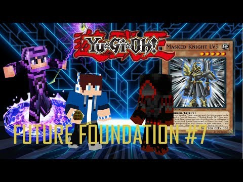 Yu-Gi-Oh ! Future Foundation ( Minecraft Roleplay ) Episode 7  TIME STONE ! ?