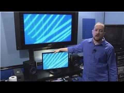 How to Measure & Clean an HDTV : How to Clean a Flat Panel TV Monitor Screen