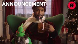 25 Days of Christmas | Isaiah Mustafa is Freeform Santa | Freeform