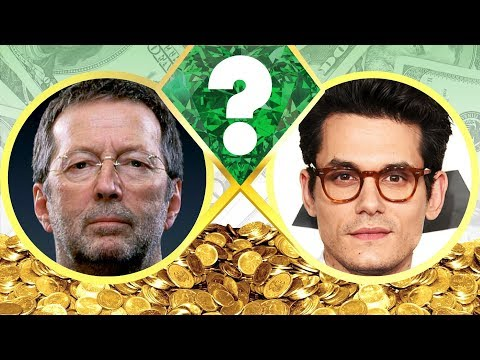 WHO'S RICHER? - Eric Clapton Or John Mayer? - Net Worth Revealed! (2017)