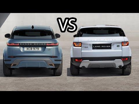 Range Rover Evoque - Old Vs New