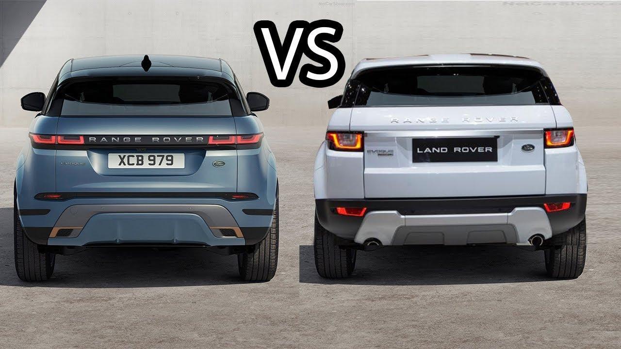 Range Rover Evoque Old Vs New Youtube