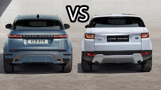 Range Rover Evoque - Old Vs New