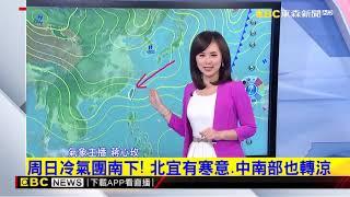 氣象時間 1071215 晚間氣象 東森新聞