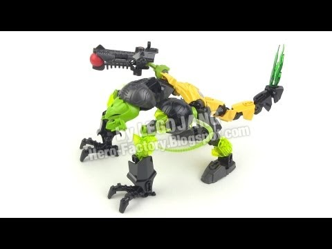 Hero Factory Breakout Wave 1 Combiner 4 Evo Toxic Reapa Youtube