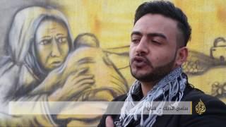 القدس - الفلسطيني سامي الديك.. مقاومة بالفن الصامت