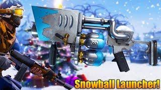 Fortnite Battle Royale: NEW UPDATE & SNOWBALL LAUNCHER! - Fortnite Battle Royale Gameplay - (PS4)