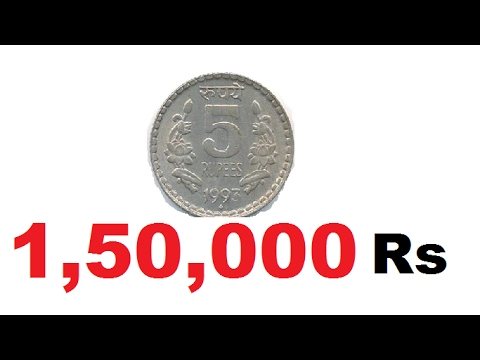 5 RS COIN  1.5 LAKHS | SELL OLD COINS | KNOW THE VALUE OF COIN