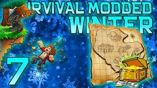 Minecraft: Modded Winter Survival Let