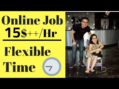 Online Jobs Philippines - Earn 8$ to 20$/hr or More! PWD Working at Home Part 1