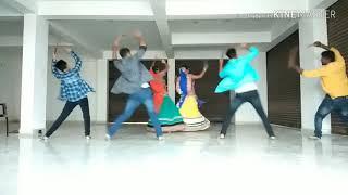 Dholida Dance Choreography with Dandiya steps #Garba Dance #Loveratri Movie