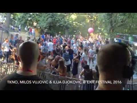 TKNO, Milos Vujovic & Ilija Djokovic @ Exit Festival 2016