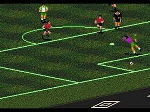 Pele's World Tournament Soccer - (Mega Drive) - Completo