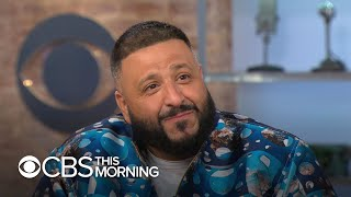 DJ Khaled on fatherhood and his time with Nipsey Hussle days before rapper