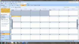 Syncing a Google Calendar with Microsoft Outlook