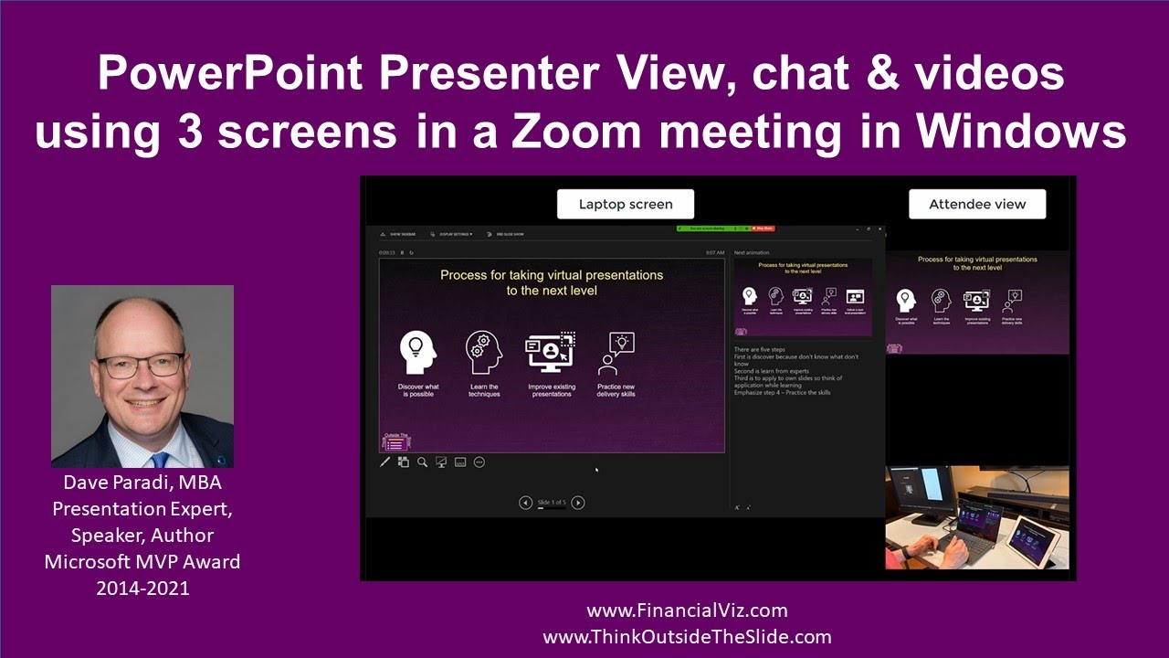 Complete Guide to Presenter View in Zoom  Think Outside The Slide