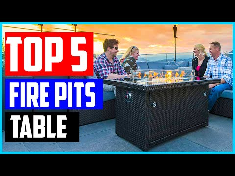 The 5 Best Fire Pits Of 2020 - Fire Pits Table Review