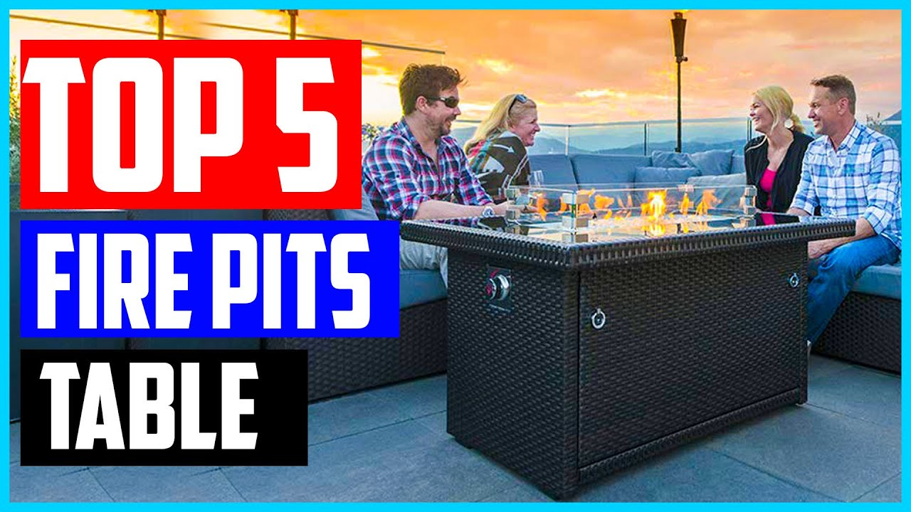 The 5 Best Fire Pits Of 2020 Fire Pits Table Review Youtube