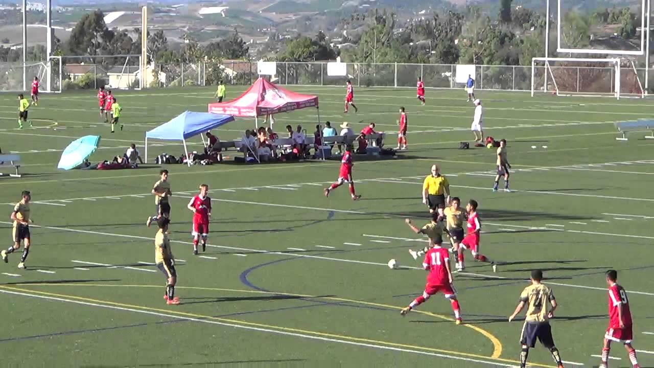 JJ Ibarra Soccer Vista Storm BU17 vs Vista Pumas BU17 BU17 1st half