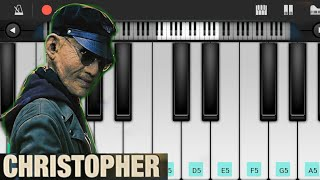 Christopher Bgm - ( Piano Cover ) | Ratsasan | Rakshasudu | Psycho killer  Bgm | villian