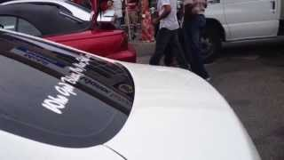 West Indian Friends That Care Car Show-Sunny G flexing