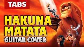 [Lion King OST] Hakuna Matata (acoustic fingerstyle guitar cover by Kaminari) Resimi