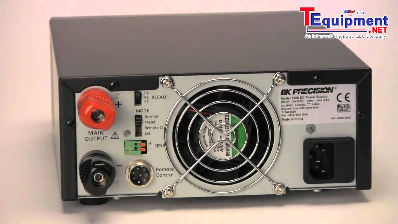 Dc Power Supplies With Remote