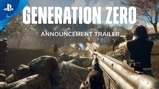 Generation Zero - Announcement Trailer | PS4
