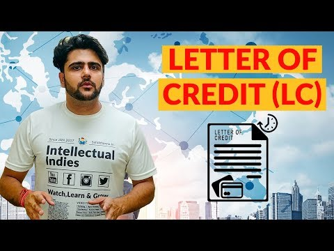 Letter Of Credit | What is Letter Of Credit | LC | Hindi
