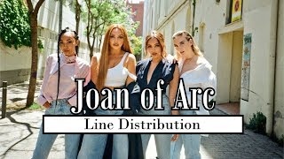 Little Mix - Joan of Arc [Line Distribution] Video