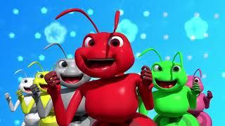 Canciones infantiles para niños - Hormiguitas de colores - Vídeos infantiles para niños