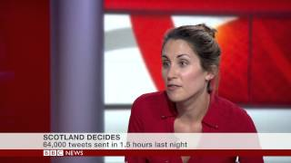 Scotland #BBCindyref Debate: Social media reaction