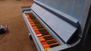 Pedro Meier Multimedia Artist – »The blue piano« – »Das blaue Klavier«